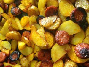 Poêlée de légumes et choux de Bruxelles
