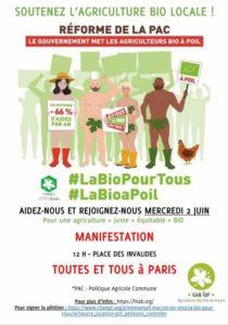 Manifestation du 2 juin